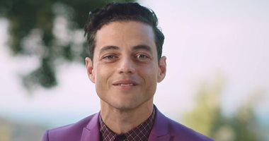 رامى مالك: أنا مصرى بحب عمر الشريف والموسيقى المصرية