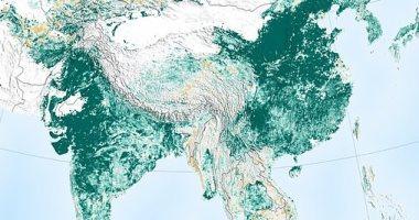 """دراسة لـ""""ناسا"""": زيادة المساحات الخضراء على كوكب الأرض بفضل الهند والصين"""
