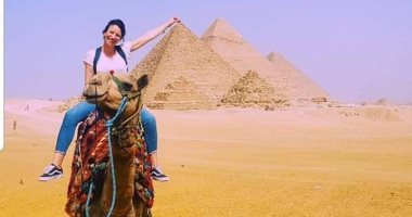 الأهرامات والكباب والمحشى تشعل حسابات نجوم العالم للسلاح فى القاهرة.. صور