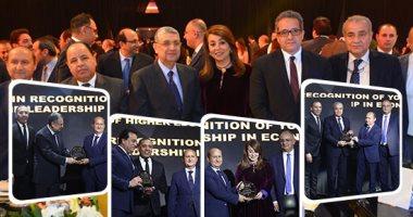"""شاهد.. """"مانشيت"""" يحتفى باحتفالية """"bt 100"""" لتكريم وزراء ومسئولين واقتصاديين"""