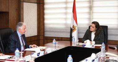 وزيرة التخطيط تلتقى رئيس المؤسسة الإسلامية لتمويل التجارة لبحث التعاون
