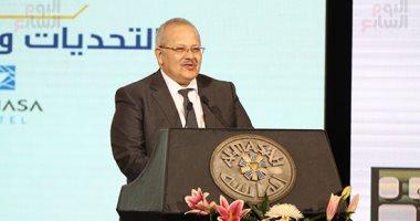 رئيس جامعة القاهرة: علماؤنا ينتجون 20% من إجمالى إنتاج مصر من البحوث العلمية  -