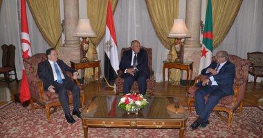 """""""دول جوار ليبيا"""": نتطلع لاتفاق توحيد الجيش الليبى استنادا لمشاورات مصر"""