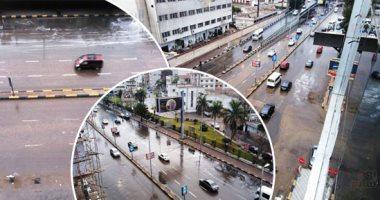 المرور: سقوط أمطار خفيفة إلى متوسطة على الطرق لم تؤثر على حركة السيارات