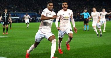 قمة بين باريس سان جيرمان ضد مانشستر يونايتد فى دورى أبطال أوروبا