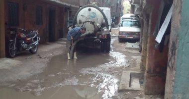 14 استجابة من الشركة القابضة لمياه الشرب والصرف الصحى خلال خمس أيام