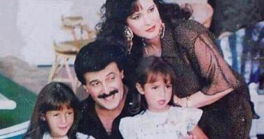 من دولاب الذكريات.. دنيا سمير غانم بفستان أبيض وسط العائلة فى طفولتها ..صور