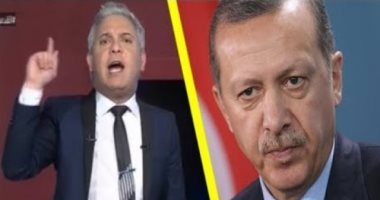 معتز مطر ومحمد ناصر يتلقيان تعليمات من حزب أردوغان للتحريض ضد مصر
