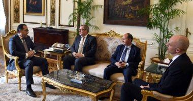 مدبولى يلتقى رئيس عمليات منطقة الشرق الأوسط وأفريقيا فى شركة بوش الألمانية