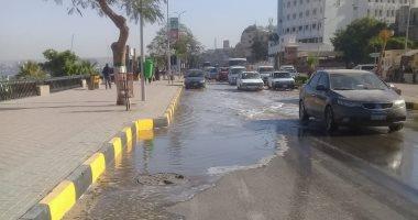 شكوى من كسر ماسورة مياه الشرب بشارع القاضى بالأميرية