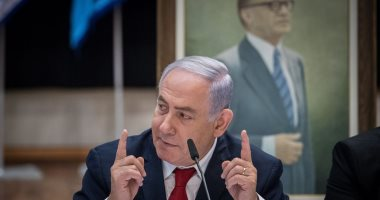 نتنياهو يتوجه إلى مقر وزارة الدفاع لإجراء مشاورات بشأن الوضع فى غزة