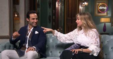 """هنا الزاهد تحكى كيف وقعت فى حب أحمد فهمى بـ""""صاحبة السعادة"""".. فيديو"""
