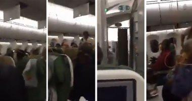 فيديو يكشف المشاهد الأخيرة لركاب الطائرة الإثيوبية قبل التحطم