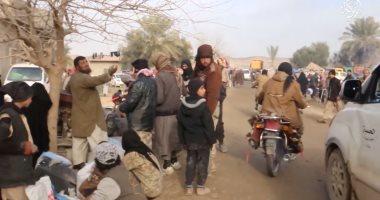مقتل 7 من إرهابيى داعش بينهم قيادى بارز فى غارة للطيران العراقى بالأنبار