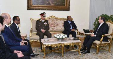 السيسى يرحب بجهود دعم التعاون العسكرى بين مصر وتنزانيا