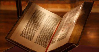 فى البدء كانت الكلمة... تعرف على حكاية أول كتاب مطبوع فى التاريخ