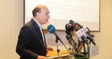 نص كلمة الفريق مهاب مميش فى زيارة رئيس الوزراء للمنطقة الاقتصادية لقناة السويس