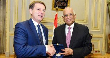 رئيس مجلس النواب يدعو سلوفينيا لتوجيه المزيد من الاستثمارات إلى السوق المصرى