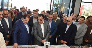 رئيس الوزراء يتفقد مشروعات المنطقة الاقتصادية لقناة السويس ويتابع أعمال المطورين