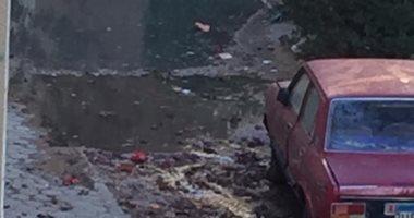 شكوى من انتشار مياه الصرف الصحى بشوارع مجاورة 3 بمنطقة 6 أكتوبر
