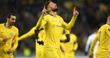 ملخص وأهداف مباراة دينامو كييف ضد تشيلسي فى الدوري الأوروبي