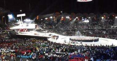 صور ..محمد بن زايد أل نهيان يعلن انطلاق منافسات الاولمبياد الخاص العالمى بأبو ظبى