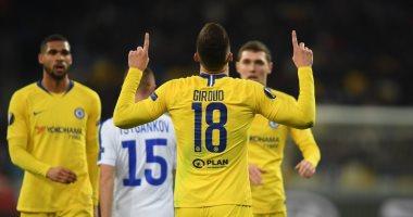 فيديو.. تشيلسى يتأهل لربع نهائى الدوري الأوروبي بخماسية ضد دينامو كييف