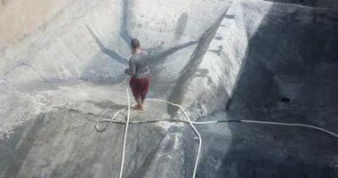 """""""مياه القناة"""" تنهى أعمال الصيانة بغرب النفق وجنيفة والشلوفة بقطاع السويس"""