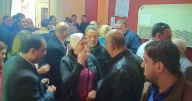 صور.. بدء التصويت فى انتخابات الصحفيين بالإسكندرية بعد اكتمال النصاب القانونى