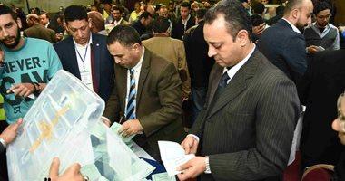 إغلاق باب التصويت فى انتخابات التجديد النصفى لنقابة الصحفيين وبدء الفرز