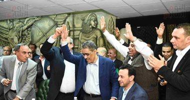 وكيل نقابة الإعلاميين تهنئ ضياء رشوان بمنصب نقيب الصحفيين