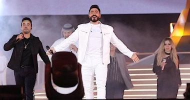 أصحاب الهمم.. نجوم حفل الأولمبياد الخاص يصورون كليب لأغنية الافتتاح ..فيديو