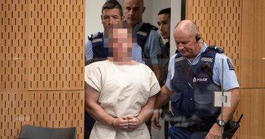 أول صور لمنفذ جريمة الحادث الإرهابى داخل محكمة كرايست تشيرش بنيوزيلندا