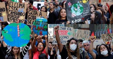 تظاهرات حول العالم لحث الحكومات على إنقاذ الكوكب بسبب تغيرات المناخ