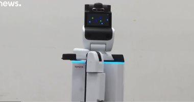"""شاهد.. روبوتات لخدمة """"ذوى الاحتياجات الخاصة"""" فى الألعاب الأولمبية بطوكيو"""