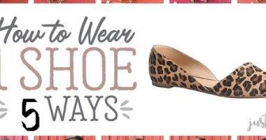 واحد كفاية.. للسفريات القصيرة 5 طرق لاختيار حذاء يناسب أكثر من إطلالة