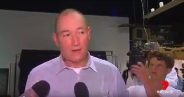 فيديو.. ضرب سيناتور أسترالى بالبيض لاتهامه المسلمين بالتسبب بحادث المسجدين