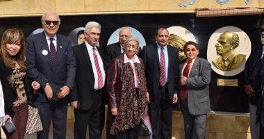 رئيس جامعة بنى سويف يكرم اسم المخرج الراحل صلاح أبو سيف