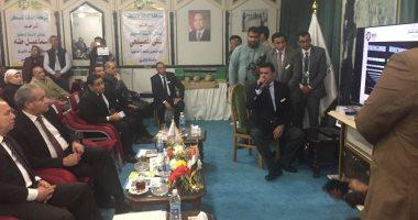 فيديو.. وزير التموين يدشن مراحل تطوير مصنع إنتاج السكر المحلى من كفر الشيخ