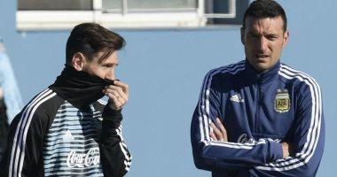 ميسي يطير إلى مدريد للانضمام إلى معسكر الأرجنتين.. فيديو