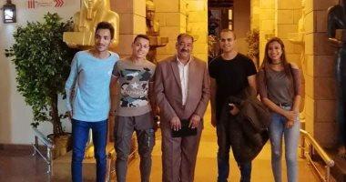 متحف النيل بأسوان يستقبل المشاركين فى ملتقى الشباب العربى الأفريقى