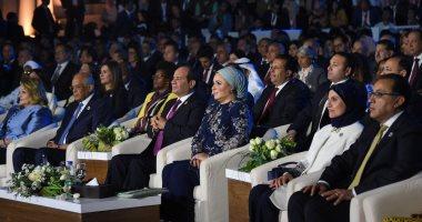 انتصار السيسى: إفريقيا والعالم العربى يزخران بالعقول المستنيرة والمتفردة