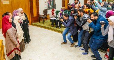 صور.. بدء المؤتمر الصحفى للتضامن لإعلان أسماء الأمهات المثاليات