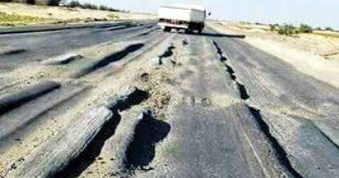 قارئ يطالب برصف طريق جمصة - المنصورة تجنبا لوقوع الحوادث
