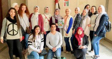 """طلاب بإعلام عين شمس يطلقون حملة """"عيش وملح"""" لبث ثقافة التبرع بفائض الطعام"""