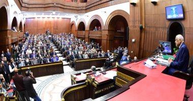 """صور.. بدء جلسة """"تشريعية النواب"""" للاستماع  إلى الآراء حول التعديلات الدستورية"""