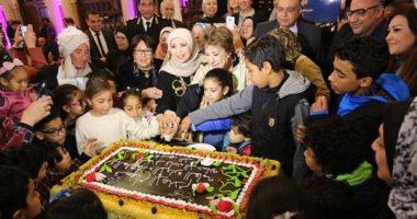 صور.. الاحتفال بأمهات شهداء الشرطة بحضور فنانين وقيادات أمنية