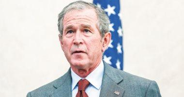 جورج بوش فى جنازة جون لويس: أمريكا أفضل اليوم بسببه