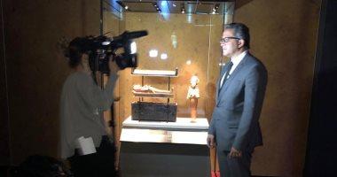 افتتاح معرض الملك توت عنخ آمون بالعاصمة الفرنسیة باريس