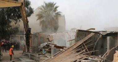 إزالة 69 عقارا و16 عشة بترعة الطوارئ وتسكين المواطنين بمشروع أهالينا 1